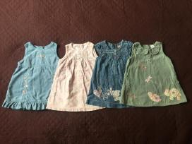 Suknelės - sarafanai 74-80 cm 12-18 M