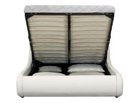 Nauja odinė lova su Led ir patalynės dėže - nuotraukos Nr. 3