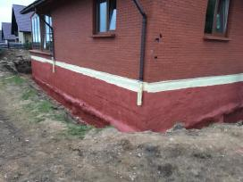 Stogu, sienu,pamatu siltinimas poliuretano putomis - nuotraukos Nr. 4