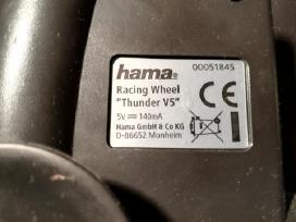 Parduodamas vairas Hama Thunder V5, - nuotraukos Nr. 3