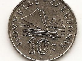N.kaledonija 10 francs 2007 #11a
