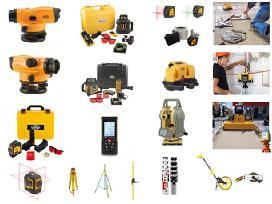 Nivelyrai, Bosch, Makita ir kiti prof. įrankiai.