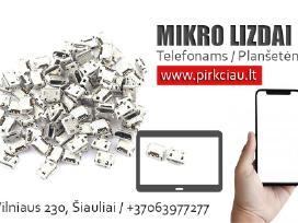 Telefonų / Planšetų Micro Usb lizdai 3,50 eur