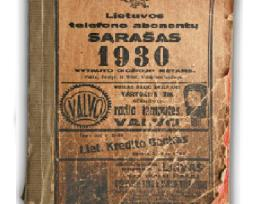 Kauno telefonų knyga (tarpukaris)