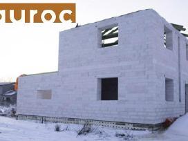 Akyto betono blokeliai bauroc (Aeroc)