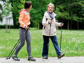 Šiaurietiško ėjimo vaikščiojimo lazdos Lengvos - nuotraukos Nr. 5