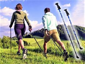 Šiaurietiško ėjimo vaikščiojimo lazdos Lengvos