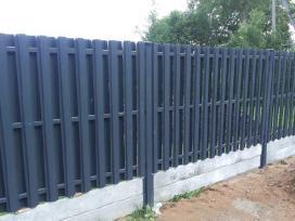 Tvoros, vartai, varteliai, gamyba ir montavimas - nuotraukos Nr. 2