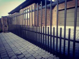 Tvoros, vartai, varteliai, gamyba ir montavimas - nuotraukos Nr. 3