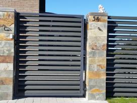 Tvoros, vartai, varteliai, gamyba ir montavimas - nuotraukos Nr. 4