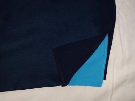 Tamsiai mėlynai žydras kelnių kostiumėlis - nuotraukos Nr. 3