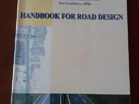 "Vadovėlis ""handbook for road design"""