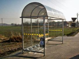 Viešojo transporto, autobusų stotelės, paviljonai. - nuotraukos Nr. 2
