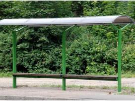Viešojo transporto, autobusų stotelės, paviljonai. - nuotraukos Nr. 3