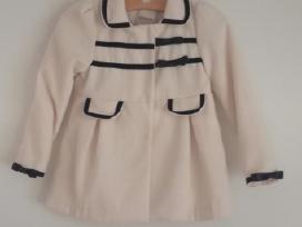Šviesus elegantiškas paltukas 10-11m. mergaitei