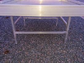 Aliuminio stalai gėlėms, prekybai, auginimui. - nuotraukos Nr. 3