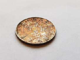 1921 Kinija Kwang tung province 20 centu , Unc - nuotraukos Nr. 4