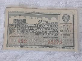 Loterijos biletas