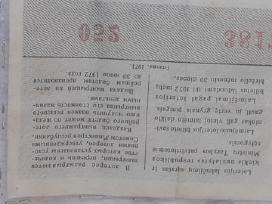 Loterijos biletas - nuotraukos Nr. 3