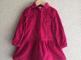 Polomino rožinė suknelė 104 dydis - nuotraukos Nr. 2