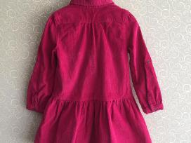 Polomino rožinė suknelė 104 dydis - nuotraukos Nr. 3