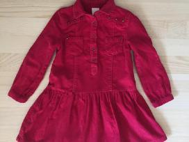 Polomino rožinė suknelė 104 dydis - nuotraukos Nr. 4